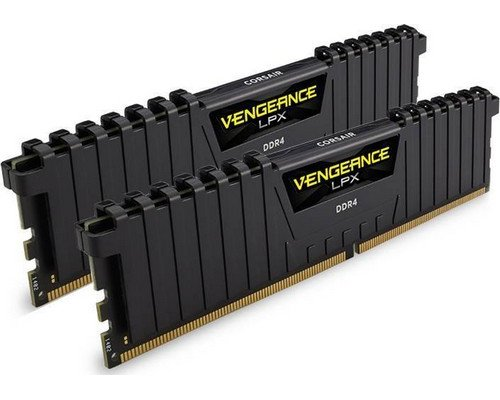 MEMORIA DDR4 3200 CORSAIR VENGEANCE LPX BLACK 2X4GB