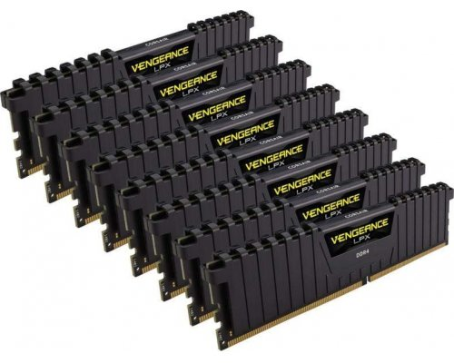 MEMORIA DDR4 4133 CORSAIR VENGEANCE LPX BLACK 8x8GB