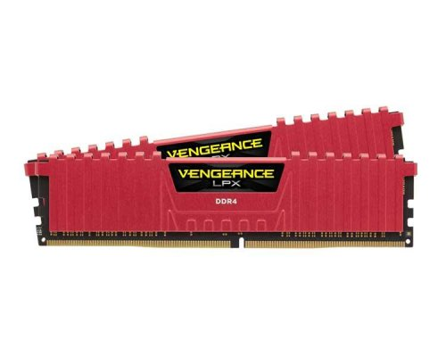 DDR4 32 GB(2X16KIT) 3000 VENGEANCE LPX RED CORSAIR