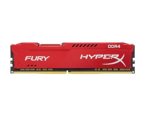 DDR4 16 GB 2400 Mhz. HyperX FURY RED KINGSTON