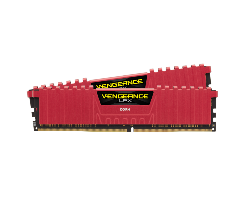 MEMORIA DDR4 3200 CORSAIR VENGEANCE LPX RED 2x8GB