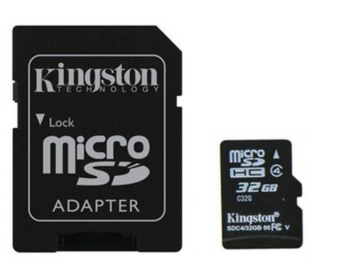 MEMORIA MICROSD 32GB KINGSTON HC + ADAPTADOR SD
