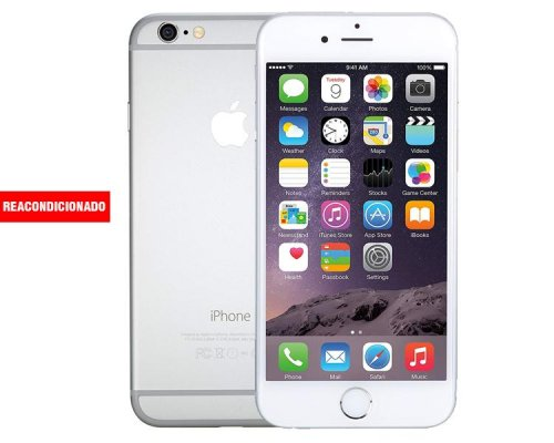 APPLE iPHONE 6 128 GB SILVER REACONDICIONADO GRADO A