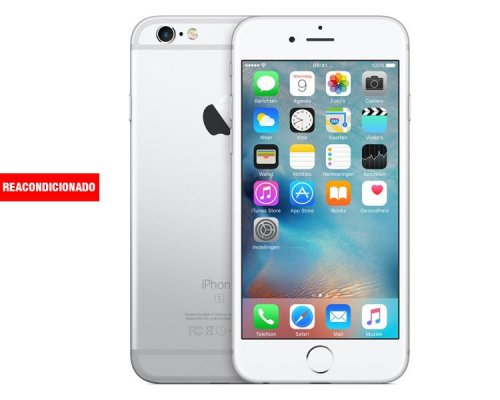 APPLE iPHONE 6S 16 GB SILVER REACONDICIONADO GRADO B