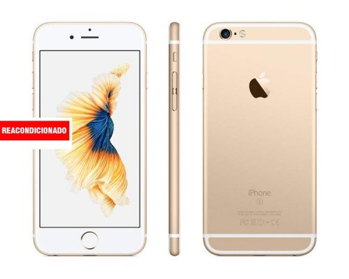 APPLE iPHONE 6S 128 GB GOLD REACONDICIONADO GRADO A