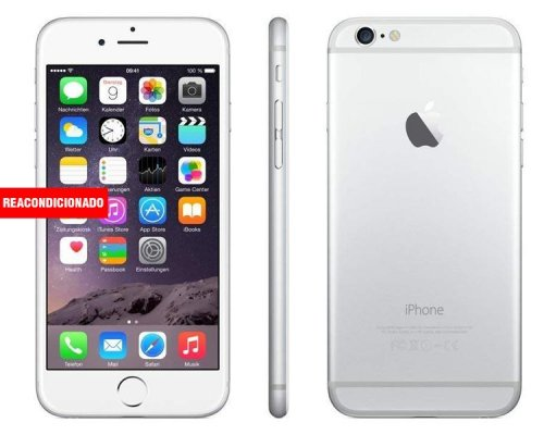 APPLE iPHONE 6 PLUS 128 GB SILVER REACONDICIONADO GRADO A