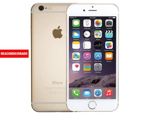 APPLE iPHONE 6 16 GB GOLD REACONDICIONADO GRADO A