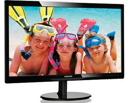 "MONITOR LED 24"" PHILIPS 246V5LSB FULLHD DVI"