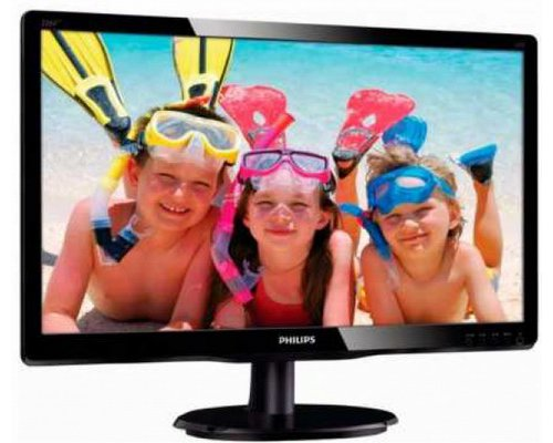 "MONITOR 21.5"" PHILIPS 223V5LSB2 FULLHD SLIM VGA"