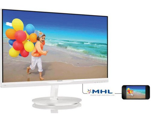 "LDC LED 23"" PHILIPS 234E5QHAW FULL HD HDMI BLANCO"