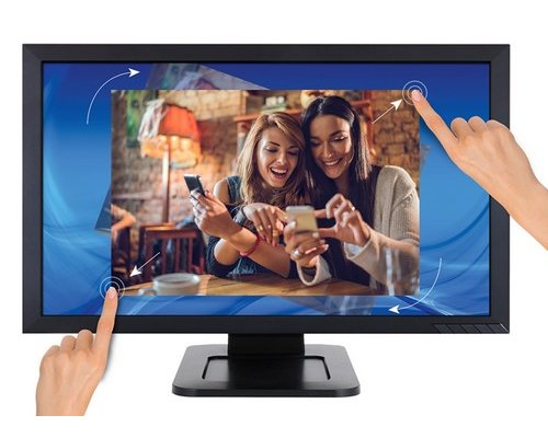 "MONITOR LED 24"" VIEWSONIC TD2421 FULL HD DVI TÁCTIL"