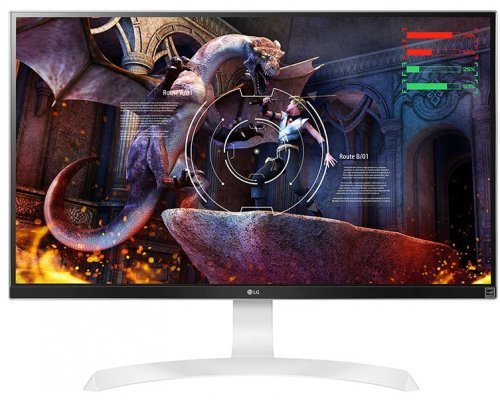 "MONITOR 27"" LG 27UD69-W IPS 4K FREESYNC DISPLAYPORT/2xHDMI"
