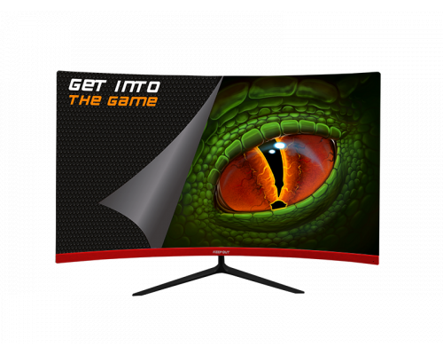 "MONITOR 23.6"" KEEPOUT GAMING XGM24C+ CURVO FHD 144Hz"