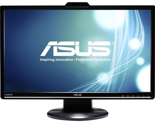"MONITOR 24"" ASUS VK248H FULLHD HDMI WEBCAM"
