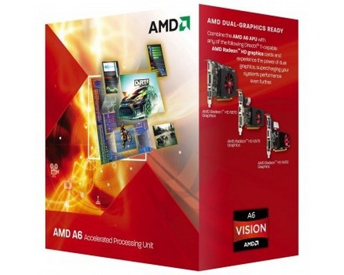 PROCESADOR AMD A6 X2 5400K 3.6GHz HD7540D (BOX) FM2