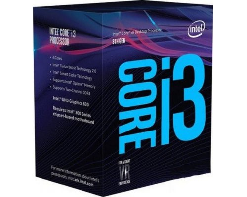 PROCESADOR INTEL CORE i3-8350K 4GHz BOX s1151-8G