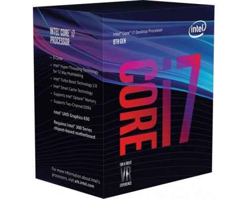 PROCESADOR INTEL CORE i7-8700 3.2GHz BOX s1151-8G