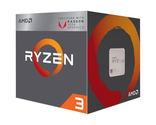 PROCESADOR AMD RYZEN 3 2200G 3.5GHz APU VEGA (BOX) AM4