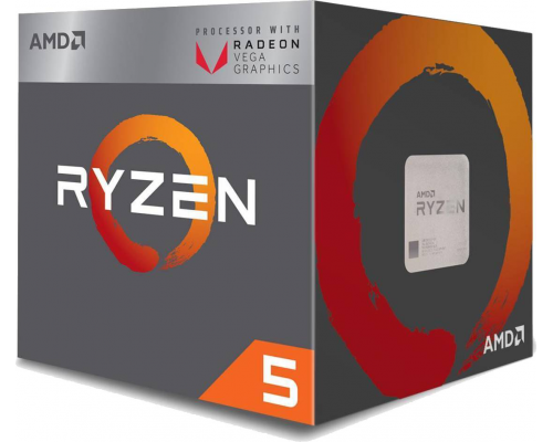 PROCESADOR AMD RYZEN 5 2400G 3.6GHz APU VEGA (BOX) AM4