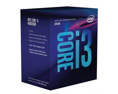 PROCESADOR INTEL CORE i3-8300 3.7GHz BOX s1151-8G
