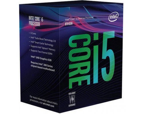 PROCESADOR INTEL CORE i5-8600 3.1GHz BOX s1151-8G