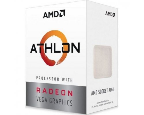 PROCESADOR AMD ATHLON PRO 200GE 3.2GHz APU VEGA3 (BOX) AM4