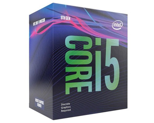 PROCESADOR INTEL CORE i5-9400F 2.9GHz BOX s1151-9G (NO VGA)