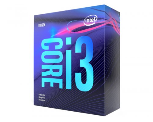 PROCESADOR INTEL CORE i3-9100F 3.6GHz BOX s1151-9G (NO VGA)