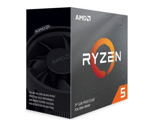 PROCESADOR AMD RYZEN 5 3600XT 3.8GHz (BOX) AM4