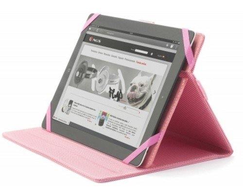 "FUNDA TABLET 9""-10"" NGS UNIVERSAL MOB PLUS PINK"