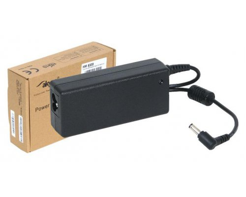 TRANSFORMADOR 65W COMPATIBLE TOSHIBA 19V 3.42A 2.5/5.5MM