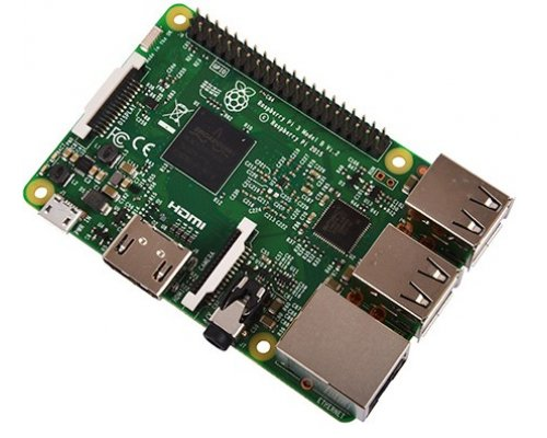 RASPBERRY Pi 3 B QUADCORE1.2GHz 1GB 4xUSB HDMI RJ45