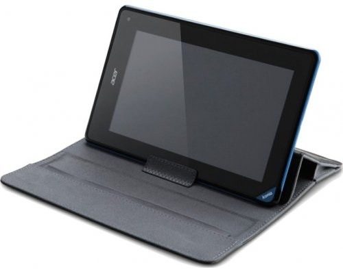 "FUNDA TABLET 7"" FOLIO NEGRO"
