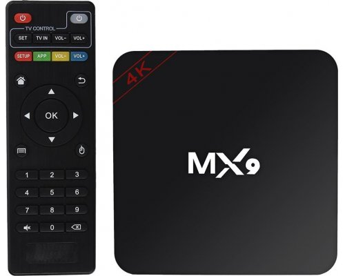 ANDROID TV MX9 QUADCORE 1GB/8GB 4K