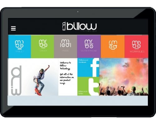 "TABLET 10"" BILLOW IPS QUAD CORE 1.2GHZ 8GB 1GB DDR3  WIFI"
