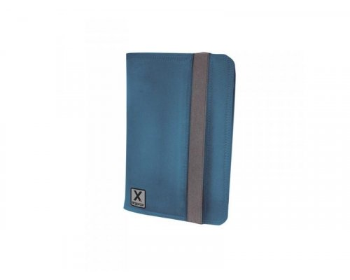 "FUNDA UNIVERSAL TABLET 7"" NYLON BLUE + SOPORTE APPROX"