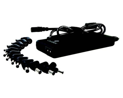 AC ADAPTER UNIVERSAL NOTEBOOK 90W AUT. SLIM COOLBOX