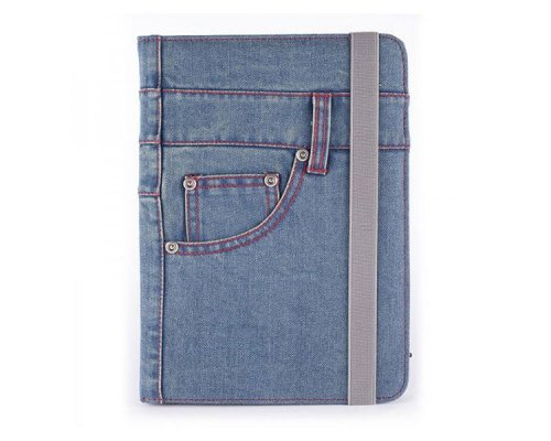 "FUNDA UNIVERSAL TABLET  9"" A 10.1"" NYLON BLUE JEANS"