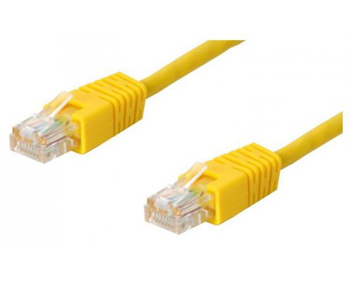 CABLE DE RED UTP CAT. 5E AMARILLO