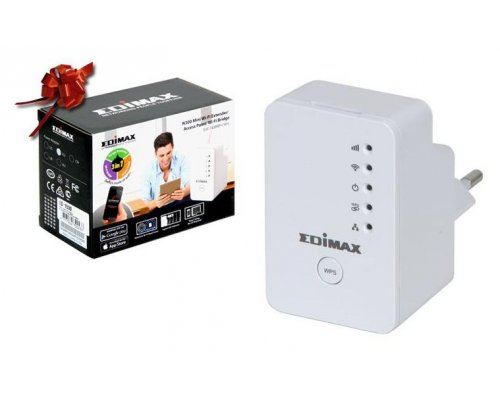 MINI EXTENSOR WIRELESS AP/BRIDGE 300MBPS