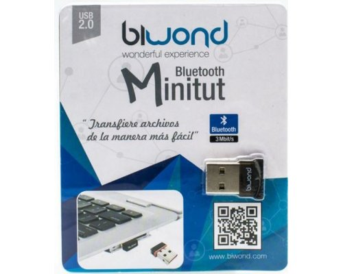 ADAPTADOR BLUETOOTH USB BIWOND MINITUT