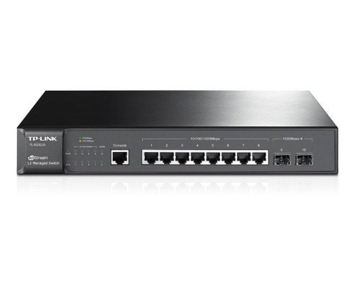 TP-LINK JETSTREAM LITE SWITCH 10 PORT 10/100/1Gbit RACK
