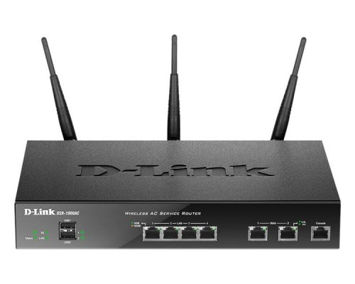 D-LINK UNIFIED WIRELESS AC DUAL BAND SERVICES ROUTER