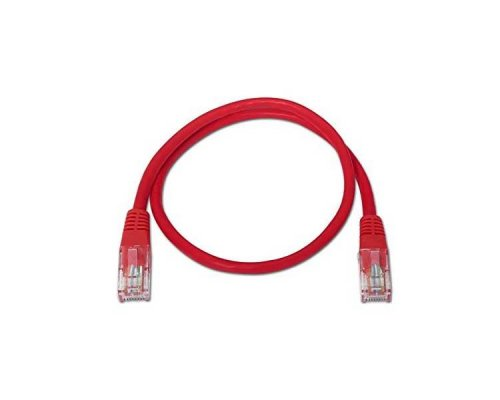 CABLE DE RED UTP CAT6 TIPO 3 M ROJO NANOCABLE