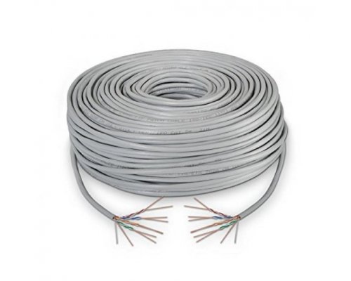 BOBINA CABLE FLEXIBLE UTP CAT6 100m