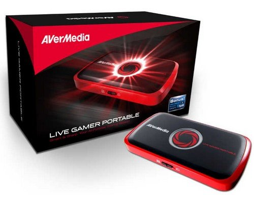 CAPTURADORA AVERMEDIA LIVE GAMER PORTABLE