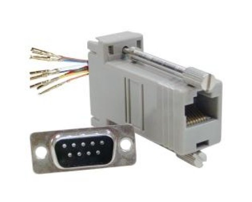 ADAPTADOR CONFIGURABLE RJ45H-DB9M