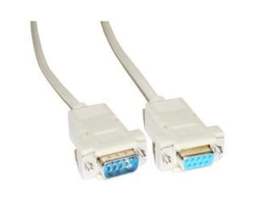 CABLE SERIE NULL-MODEM 3M (DB9-M/H)