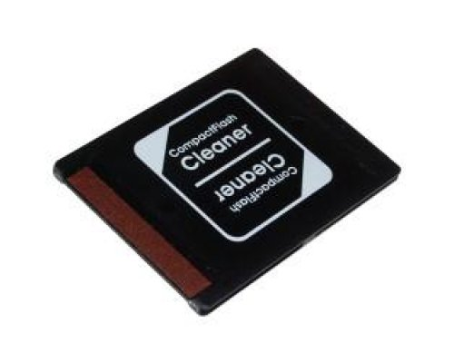 MEMORY CARD SLOT CLEANING (CF - COMPACTFLASH)
