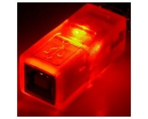 ADAPTADOR USB CON LED NARANJA (AM/BH)
